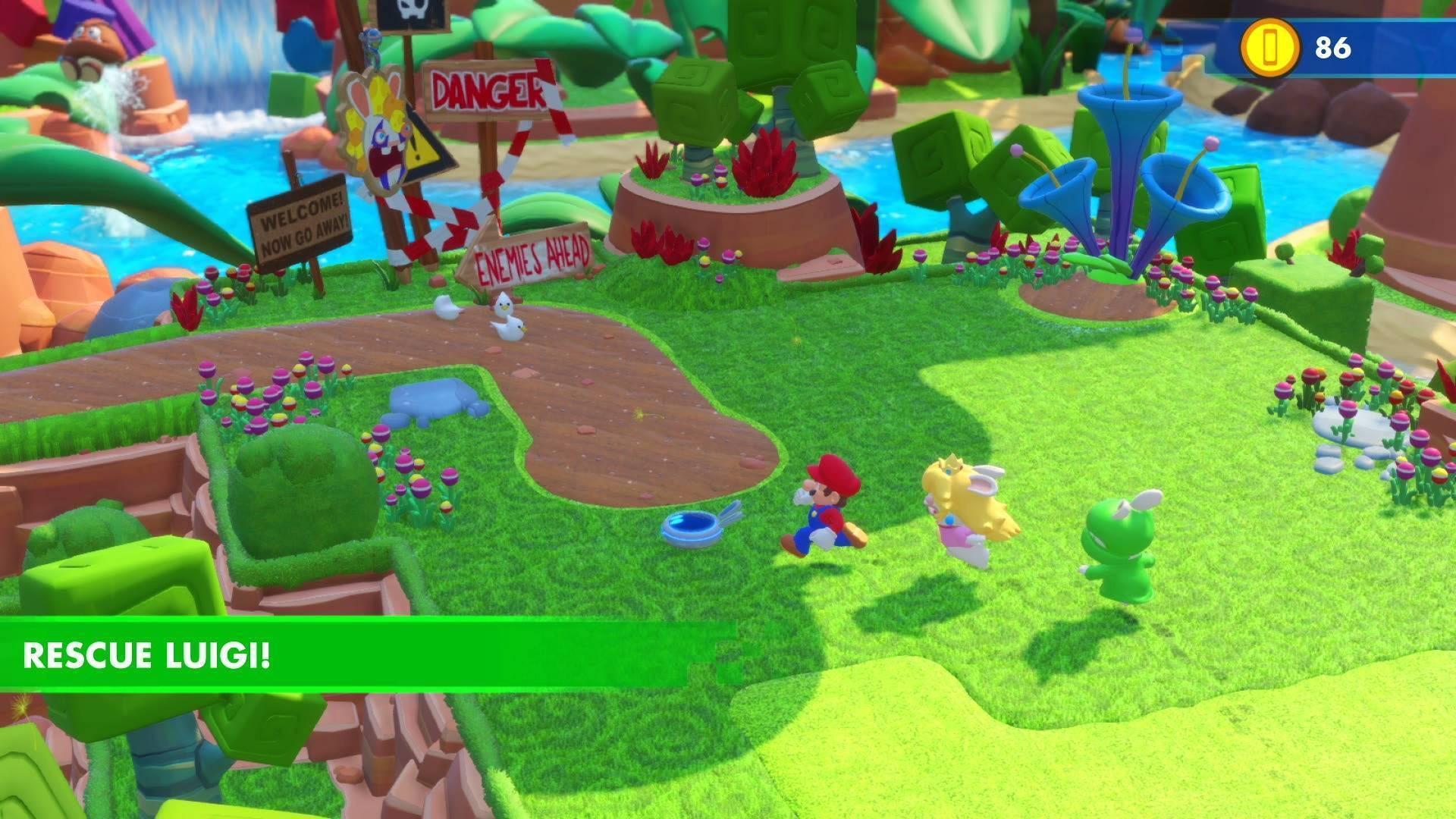 b82f33f9fbcd Acheter Mario + Rabbids Kingdom Battle Nintendo Switch - Comparer ...