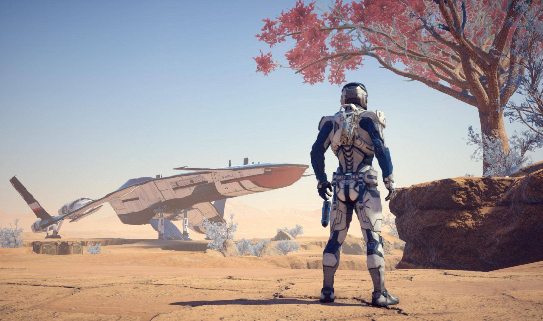 Article title about Mass Effect Andromeda