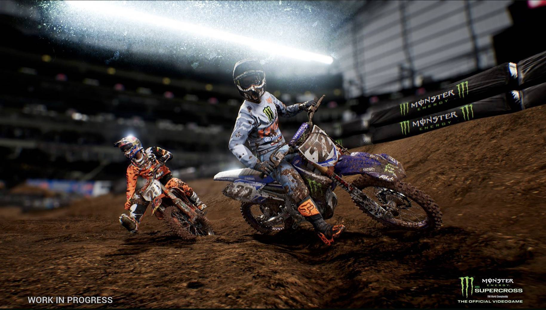 Article title about Monster Energy Supercross The Official Videogame