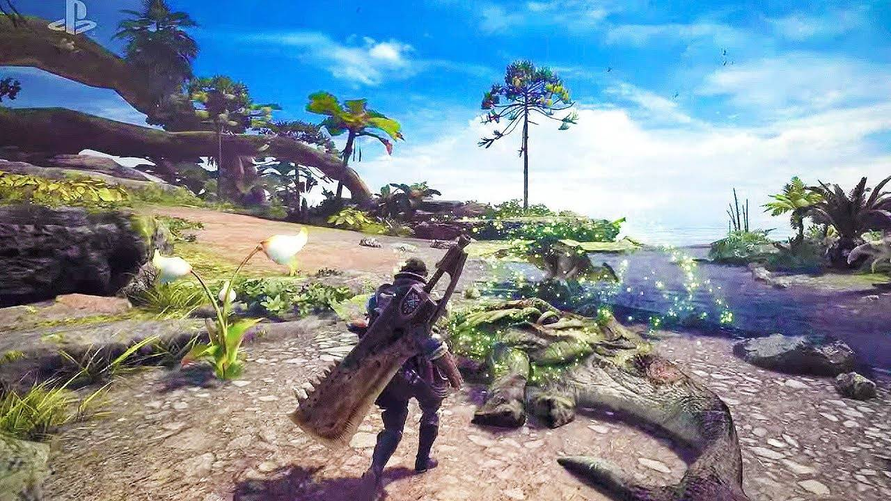 Titel des Artikels überMonster Hunter: World