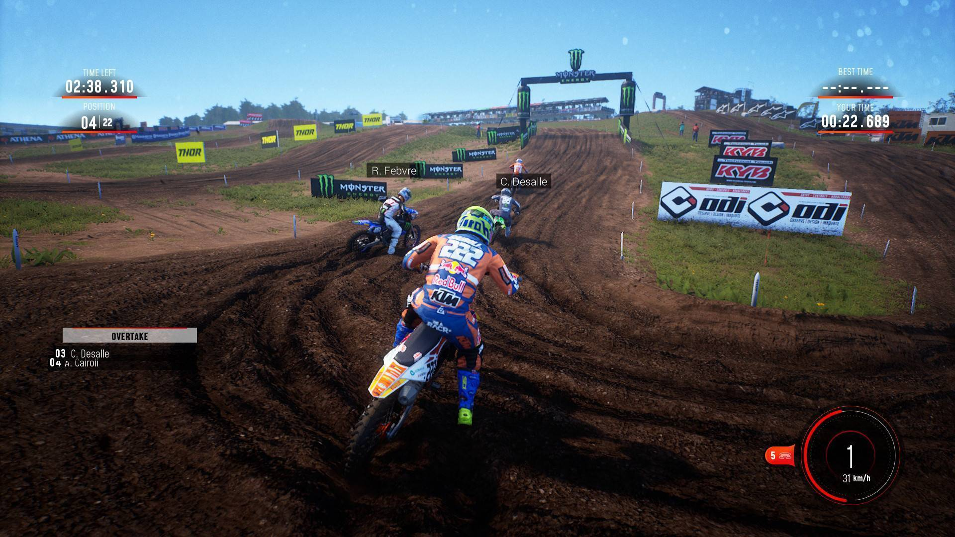 Article title about MXGP 2019