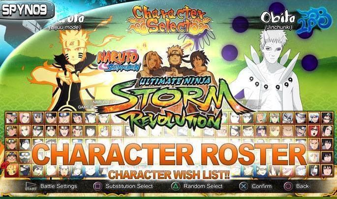 Naruto Shippuden Ultimate Ninja Storm Revolution Pc Cd