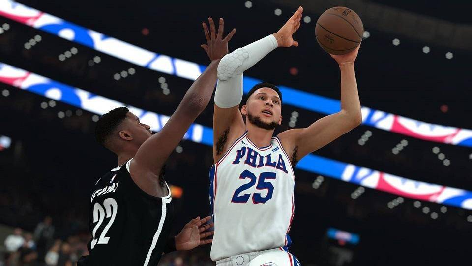 Article title about NBA 2K19