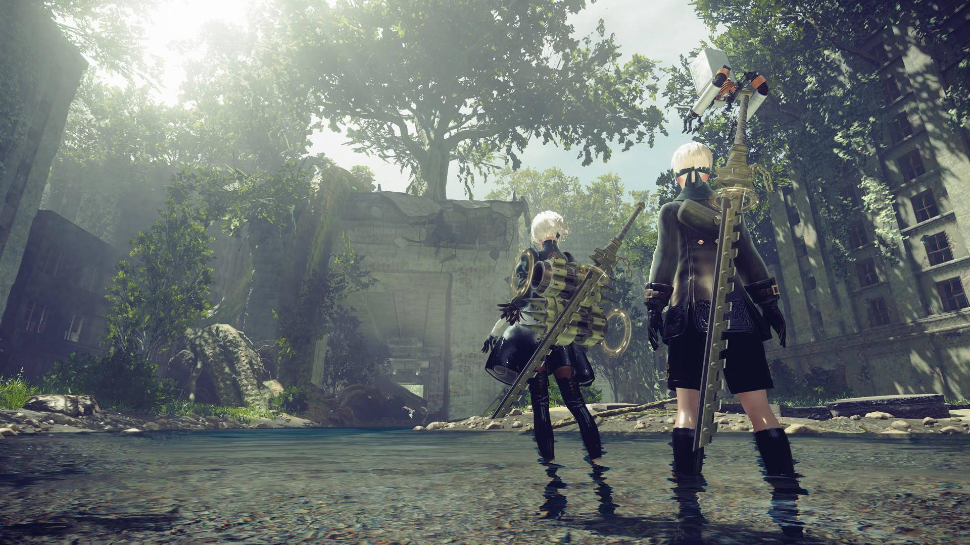 Article title about NieR Automata
