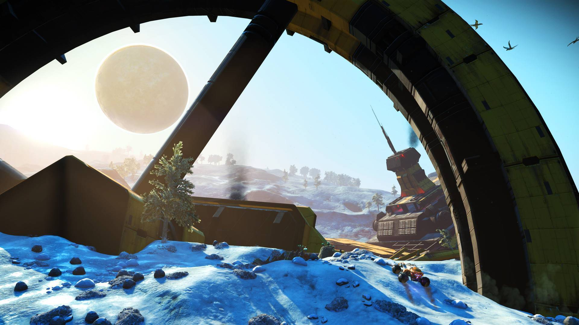 Article title about No Mans Sky