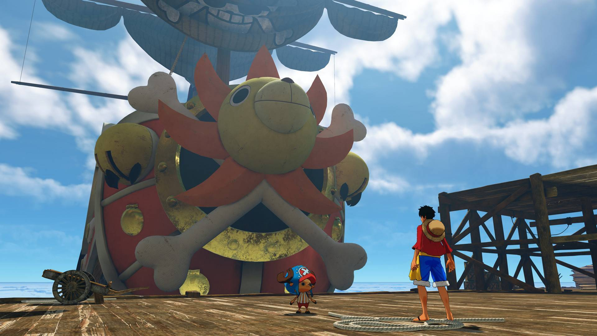 Article title about ONE PIECE World Seeker