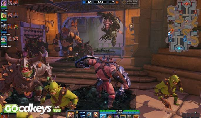 Article title about Orcs Must Die! Unchained