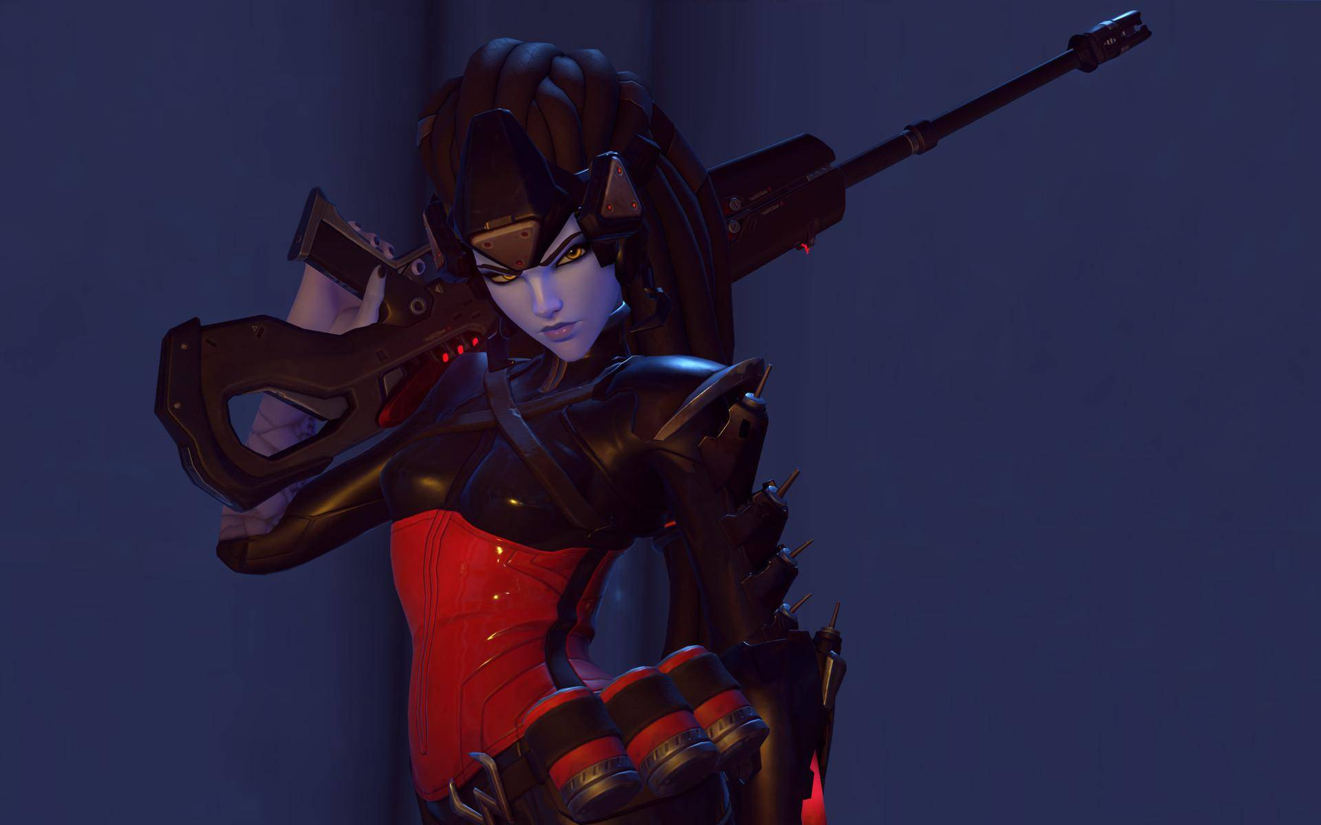 Overwatch Widowmaker Noire Skin