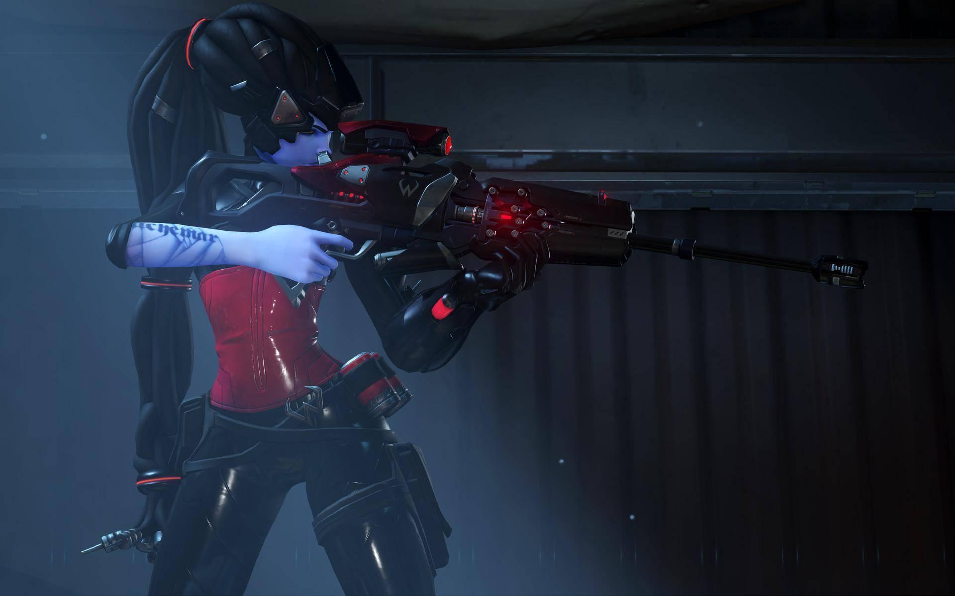 Overwatch Widowmaker Noire Skin