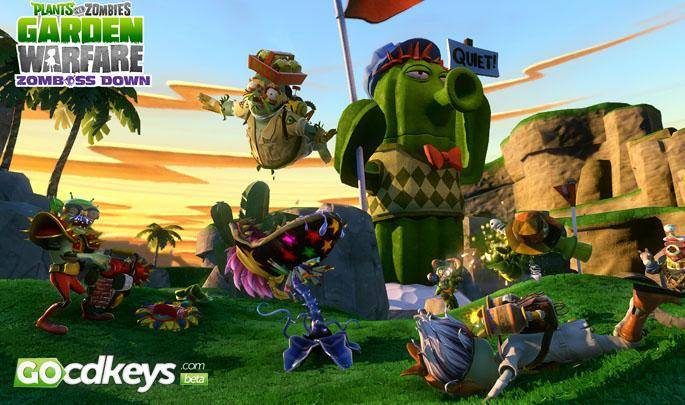 Titel des Artikels überPlants vs Zombies: Garden Warfare