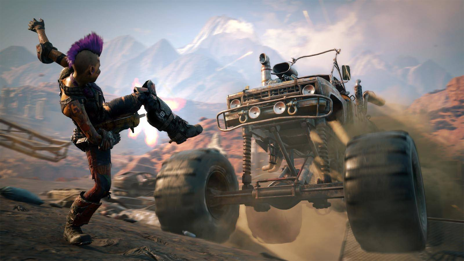 Article title about RAGE 2