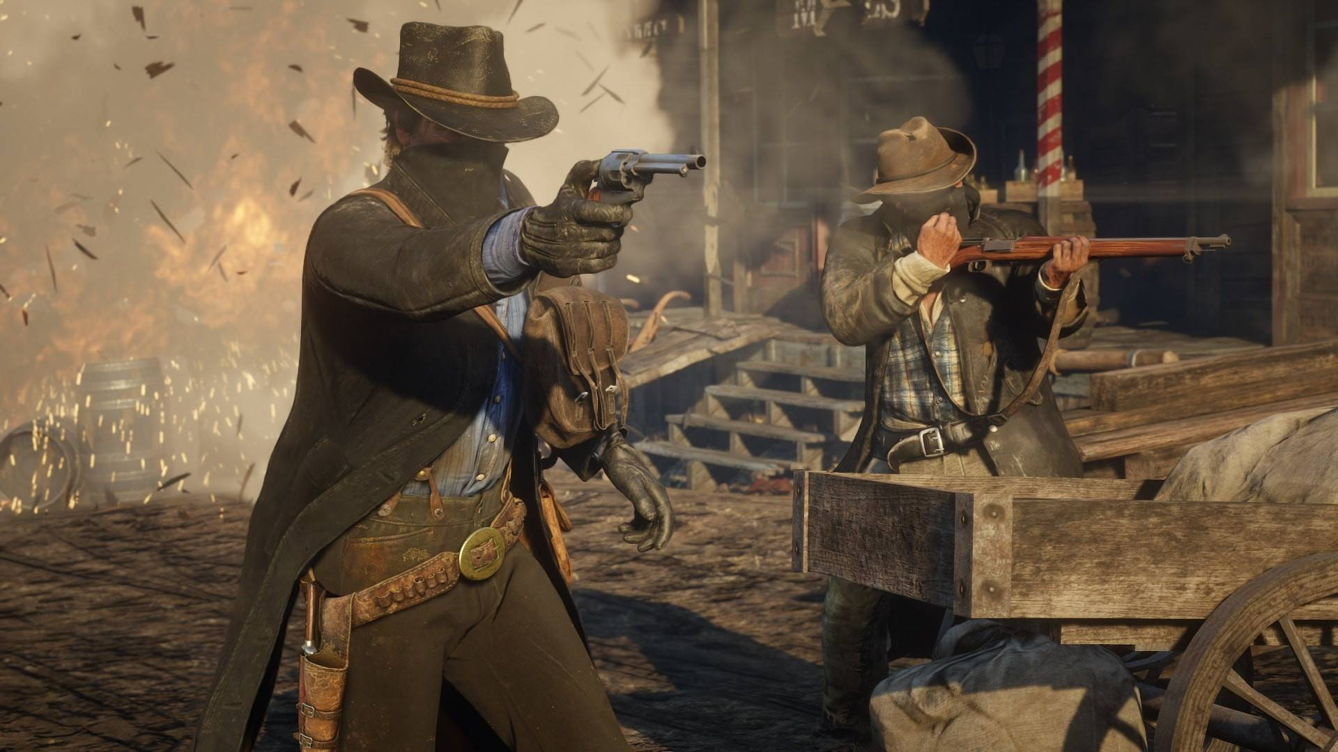 Article title about Red Dead Redemption 2