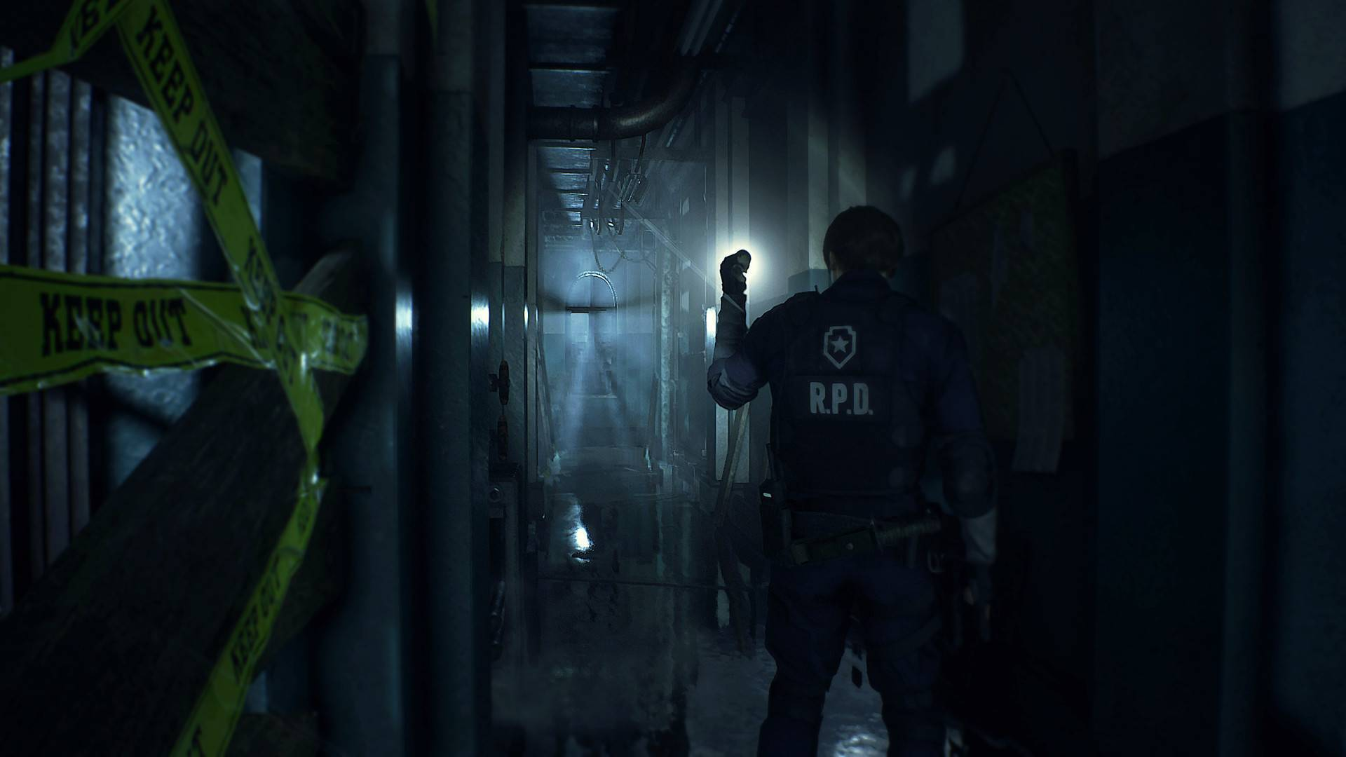 Article title about RESIDENT EVIL 2