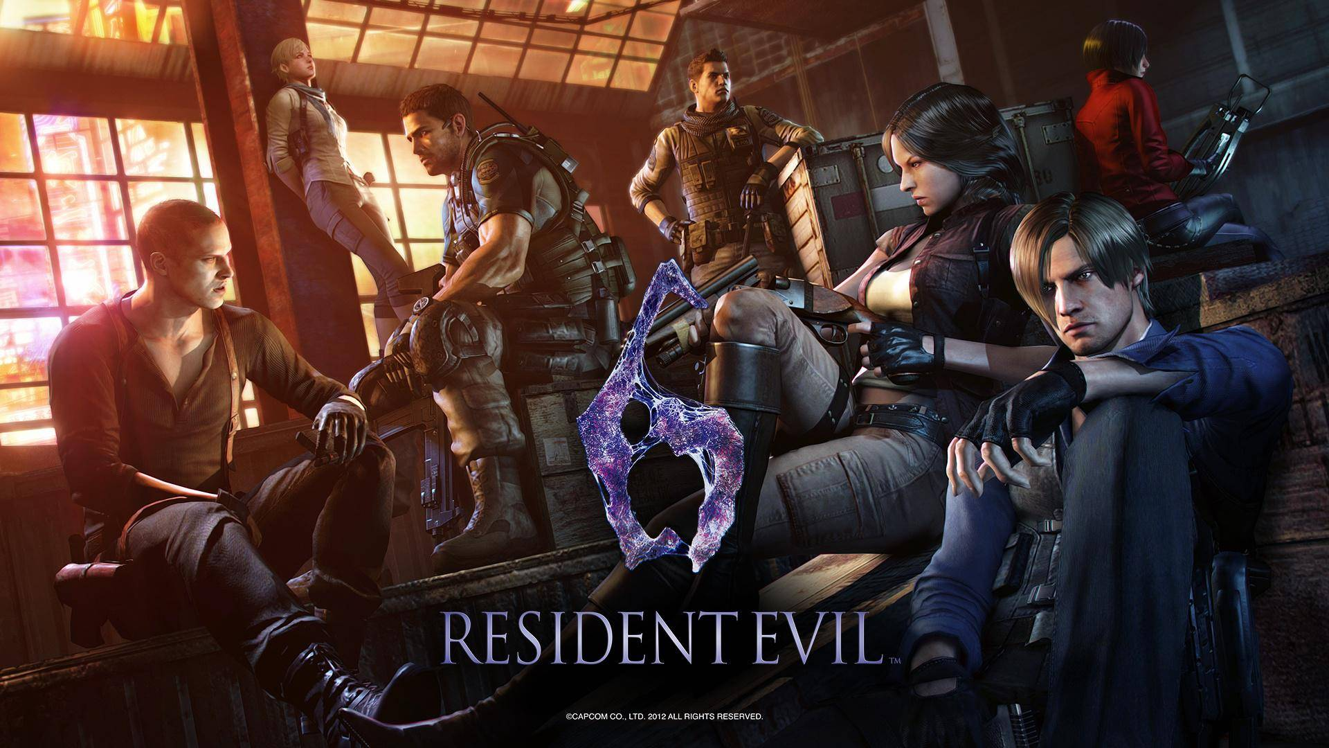 Article title about Resident Evil 6