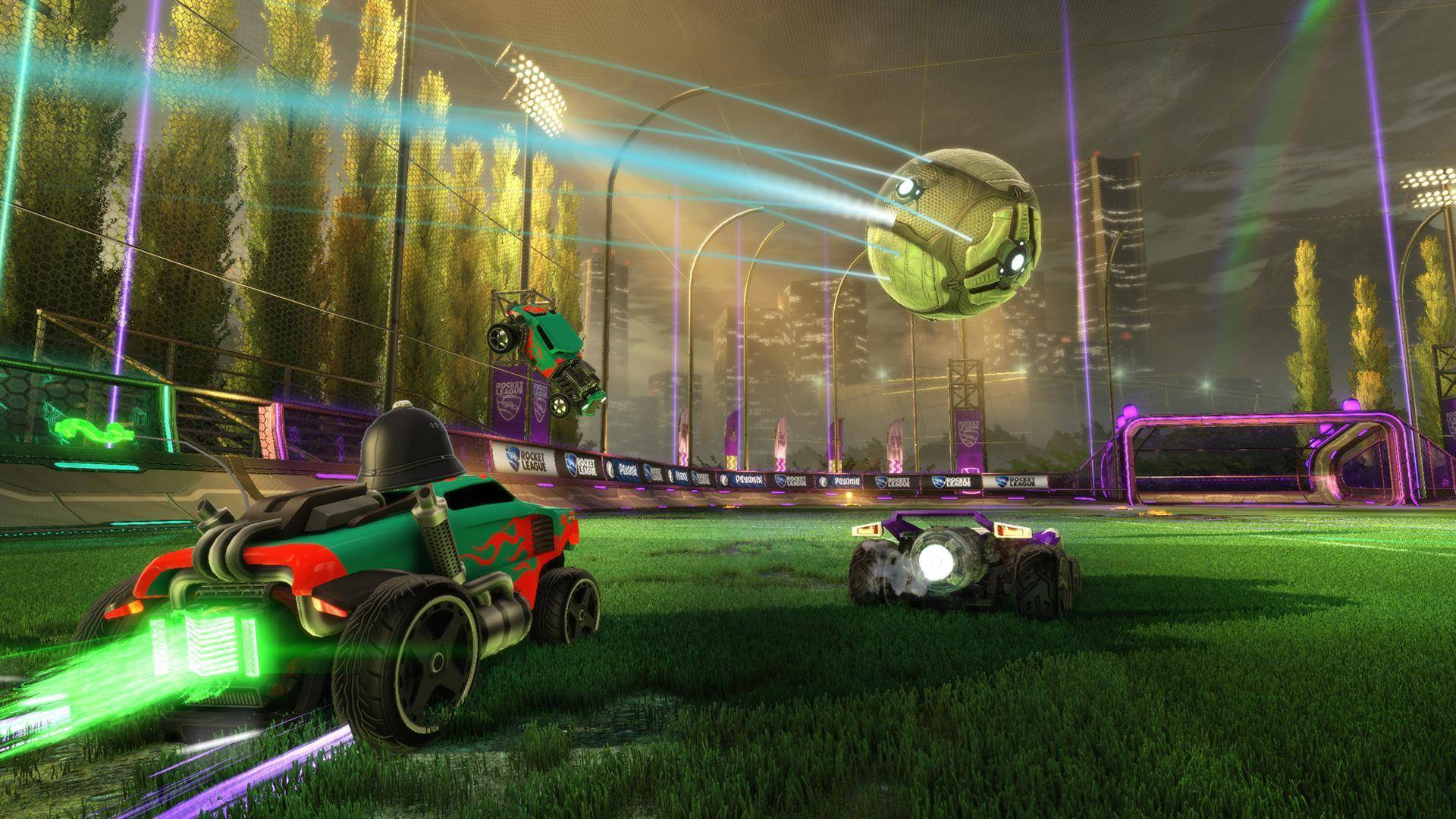Article title about Rocket League