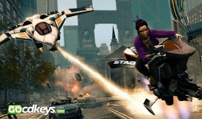 Article title about Saints Row: The Third