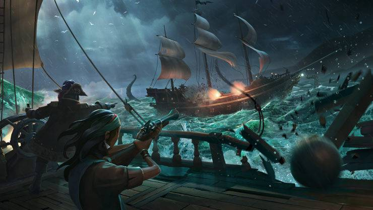 Article title about Sea of Thieves