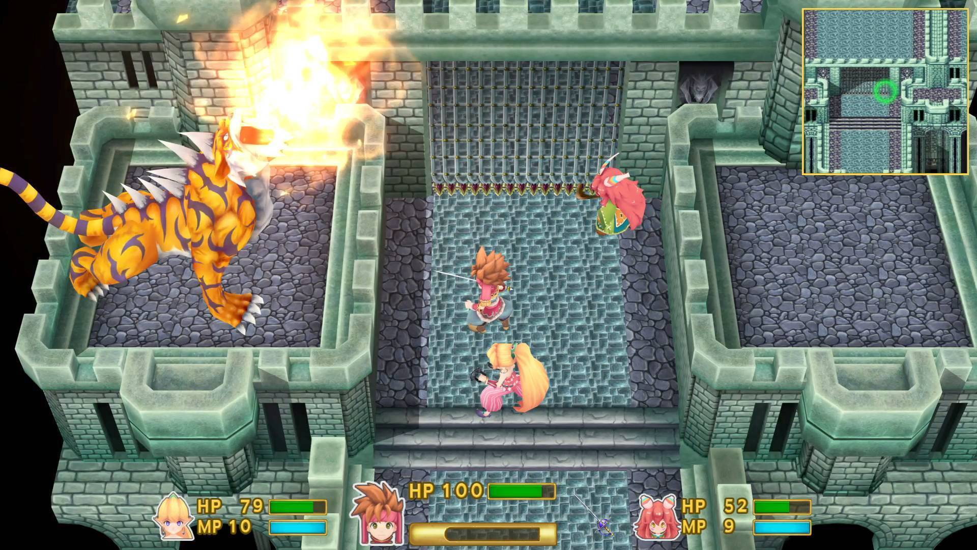 Article title about Secret of Mana