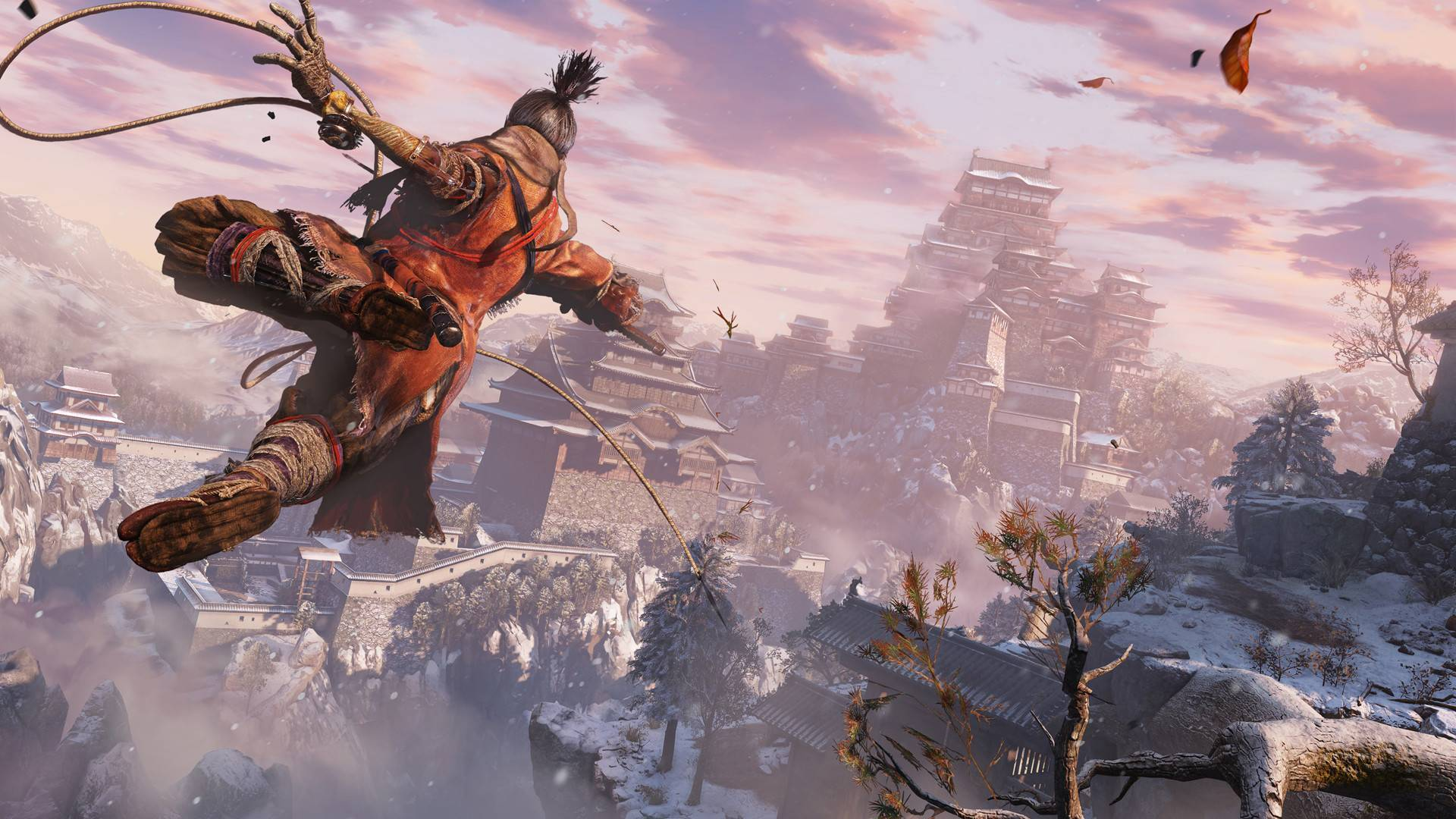 Article title about Sekiro: Shadows Die Twice