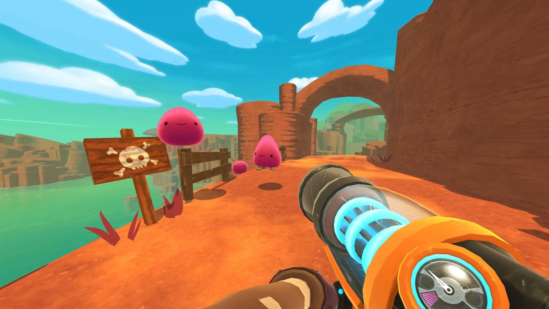 Article title about Slime Rancher