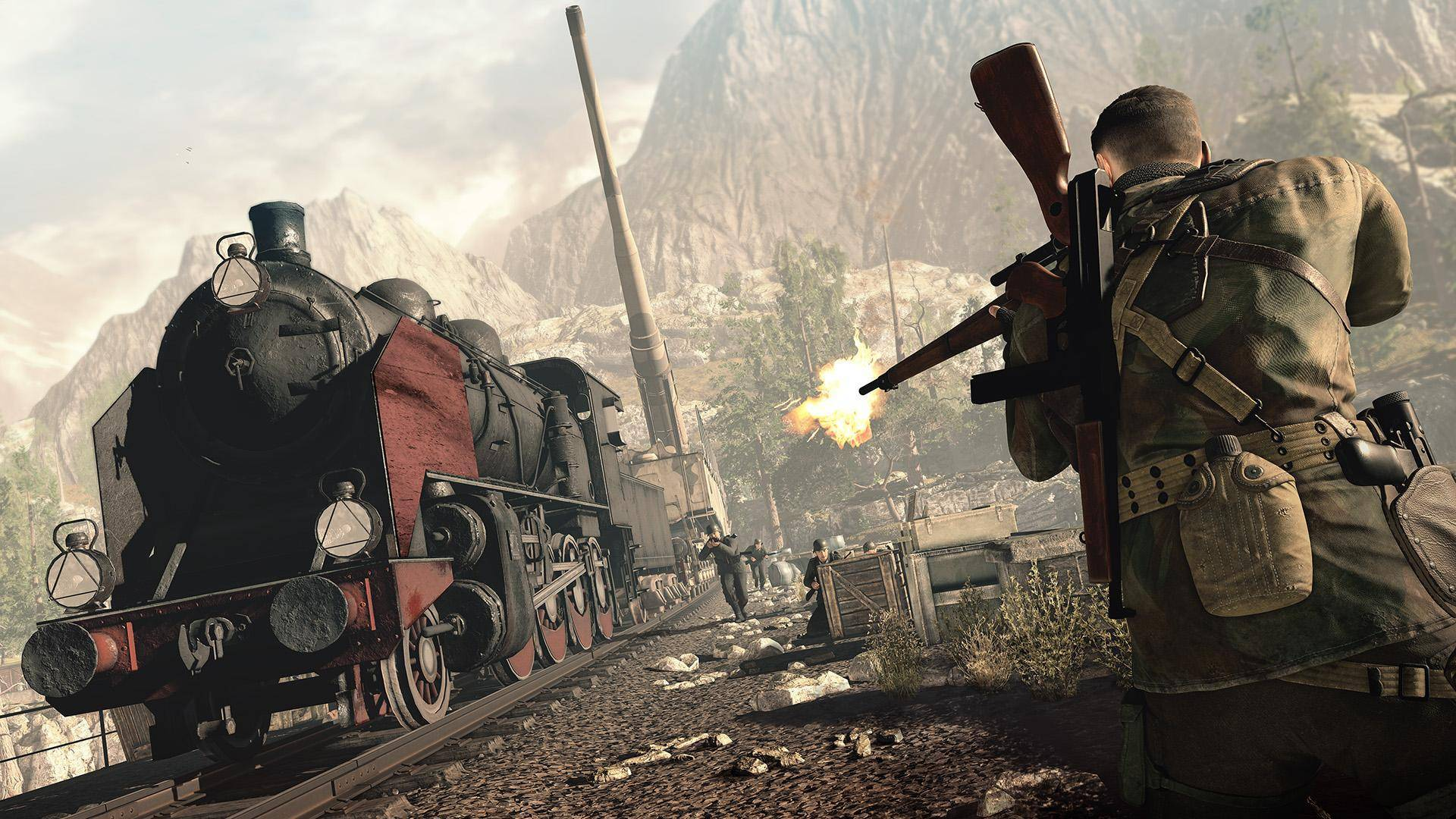 Article title about Sniper Elite 4