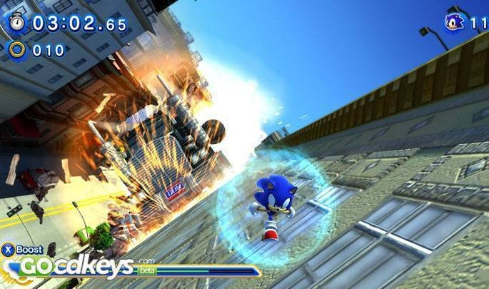 Article title about Sonic Generations