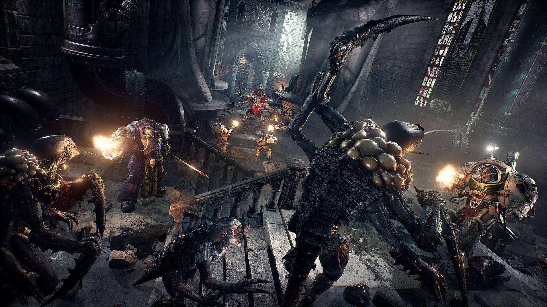 Article title about Space Hulk Deathwing