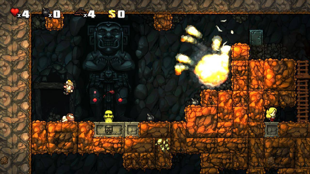 Article title about Spelunky