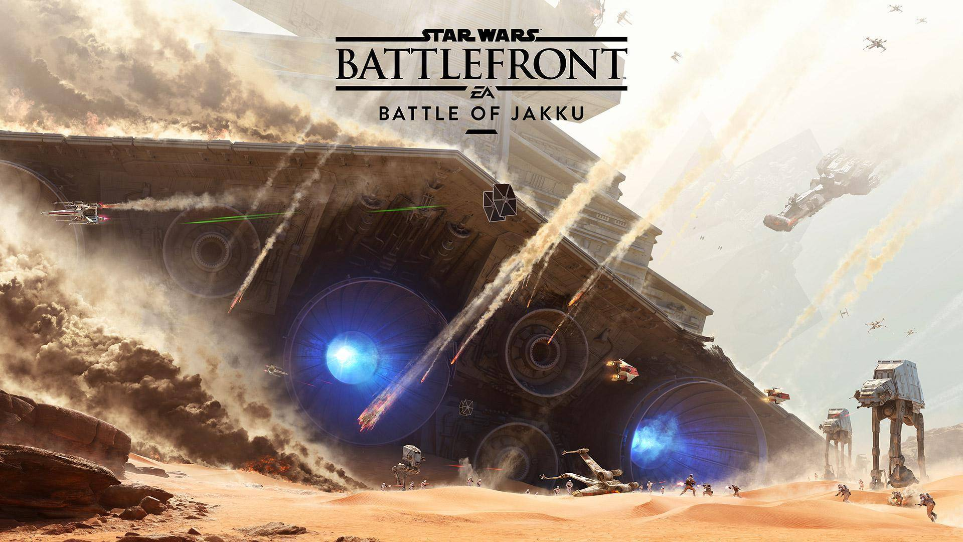 Regarder la bande-annonce de Star Wars Battlefront + Battle of Jakku