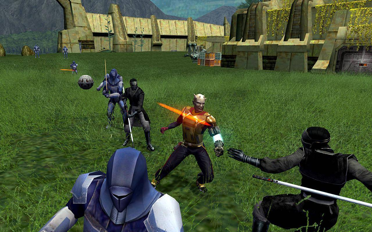 Article title about Star Wars: Knights of the Old Republic 2