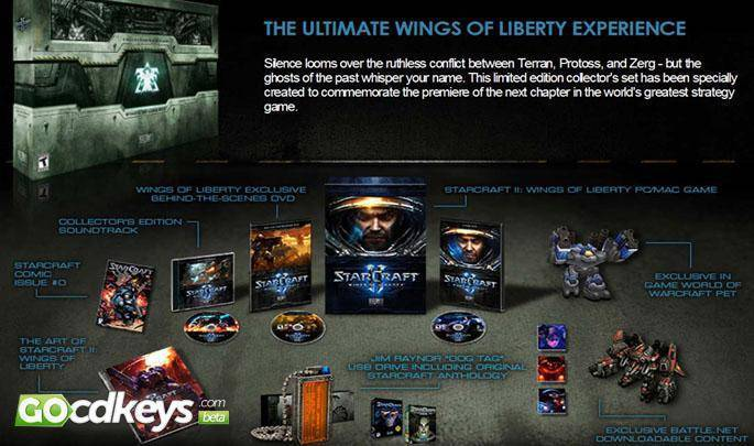 Regarder la bande-annonce de Starcraft 2: Wings of Liberty Collectors Edition