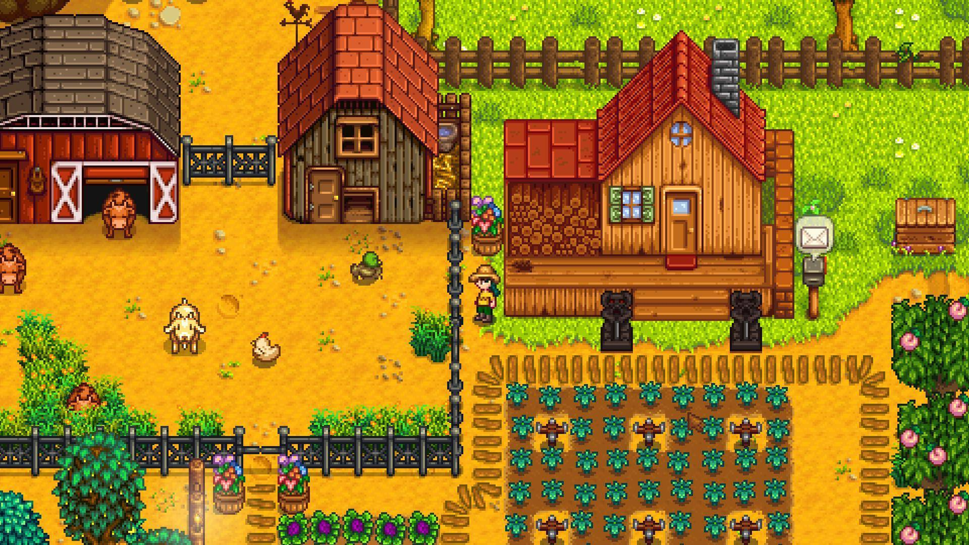 Article title about Stardew Valley