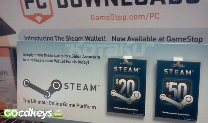 Steam Game Card 50 USD