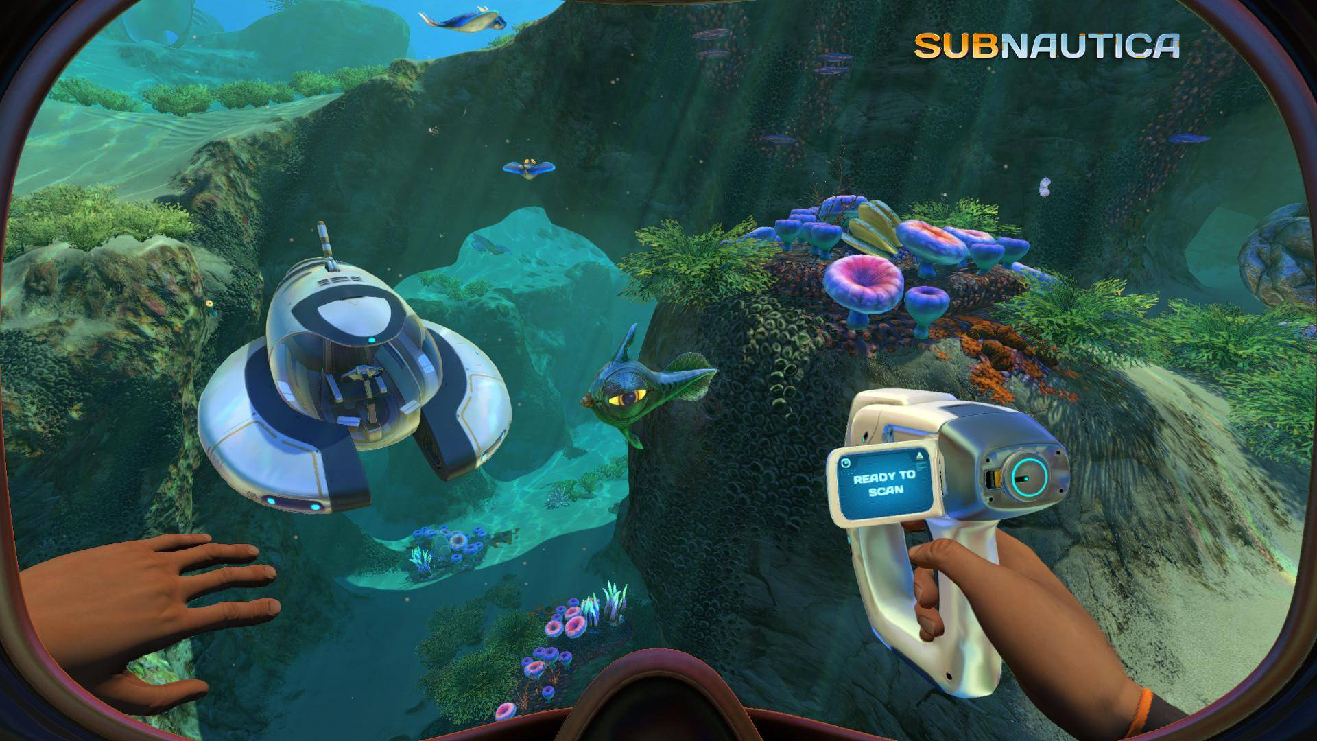 Article title about Subnautica