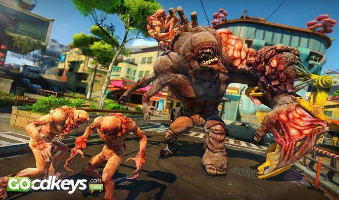 Article title about Sunset Overdrive