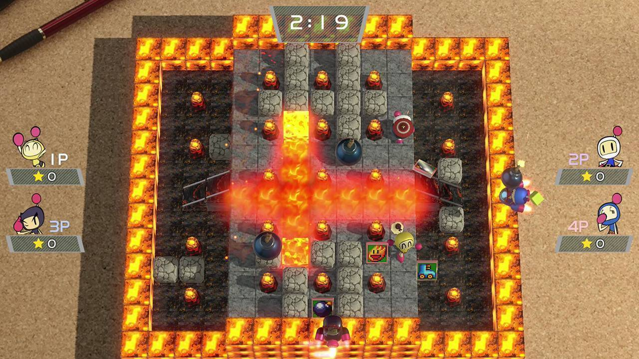 Article title about Super Bomberman R