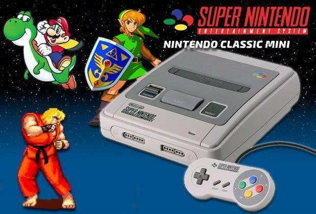 Buy Super Nintendo Mini Snes Mini Console Compare Prices