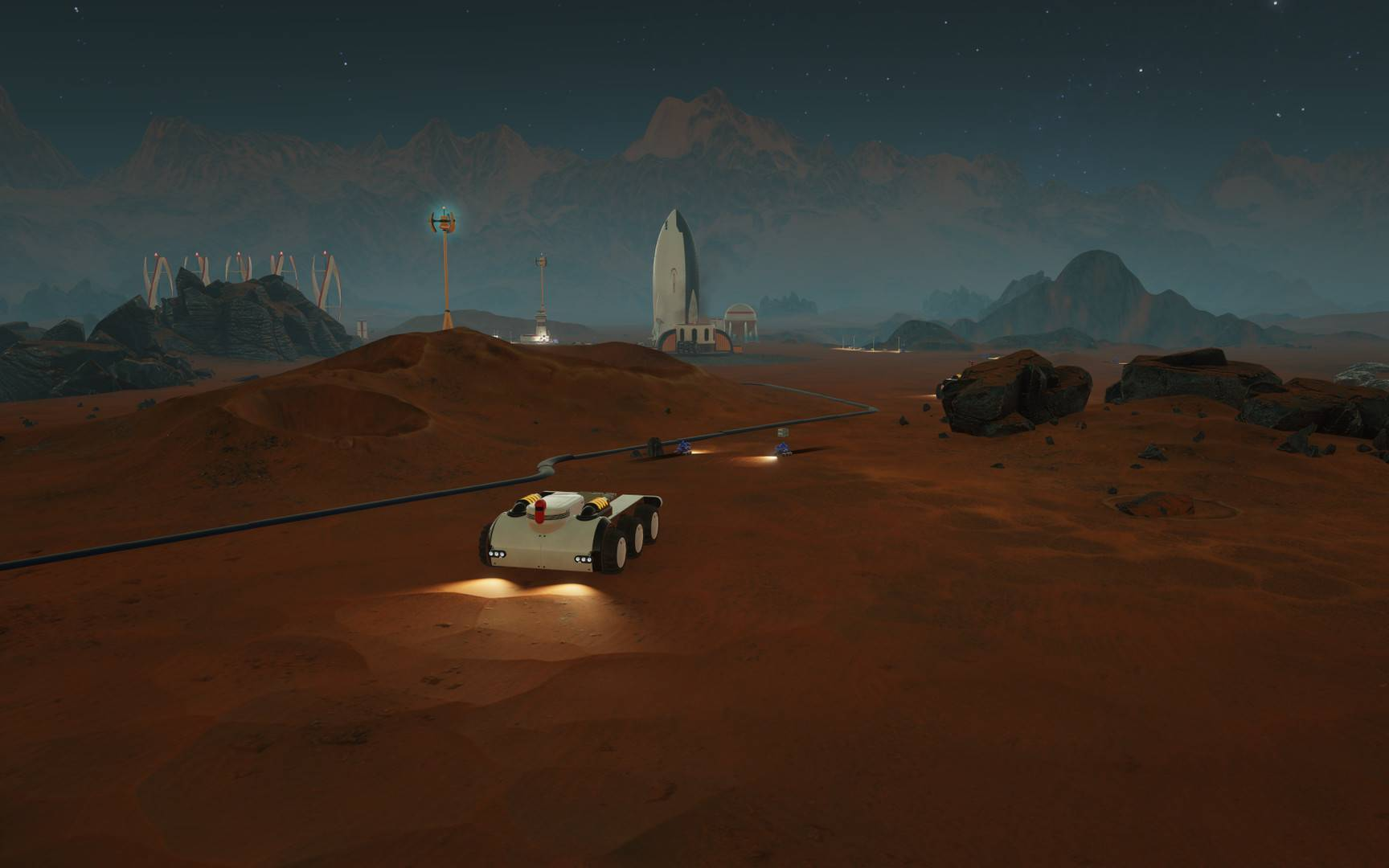 Article title about Surviving Mars