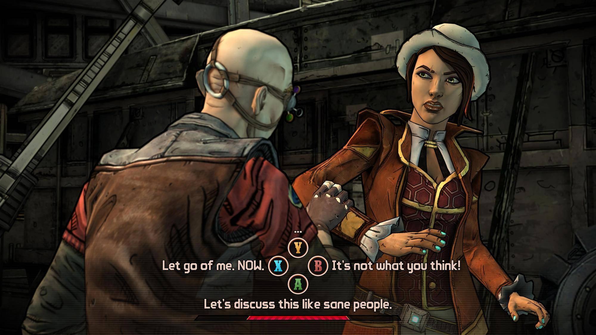 Article title about Tales from the Borderlands