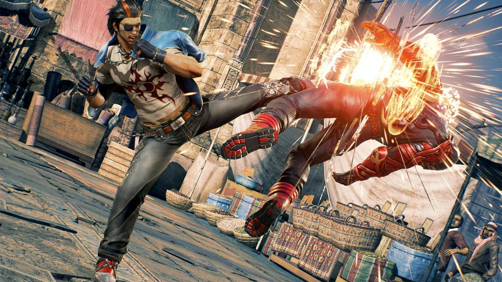 Article title about Tekken 7