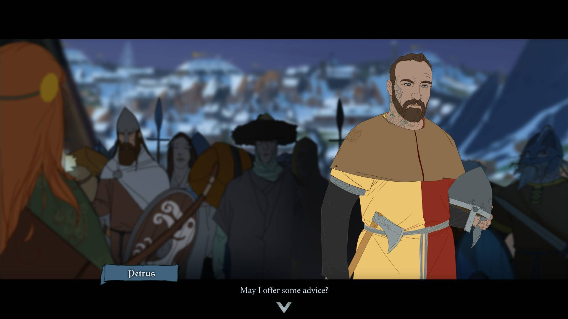 Article title about The Banner Saga 3
