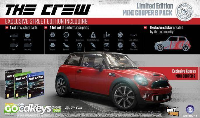buy the crew gold edition pc cd key for uplay compare prices. Black Bedroom Furniture Sets. Home Design Ideas