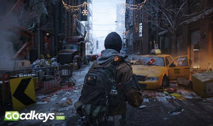 Article title about The Division