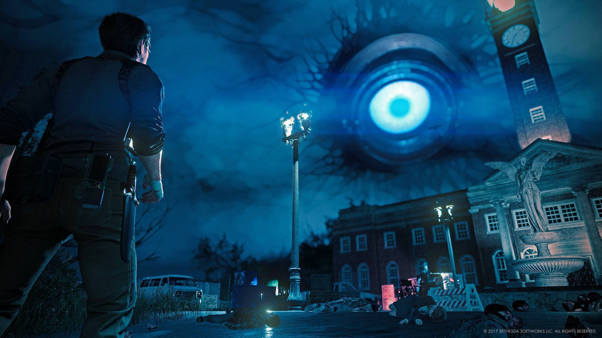 Article title about The Evil Within 2
