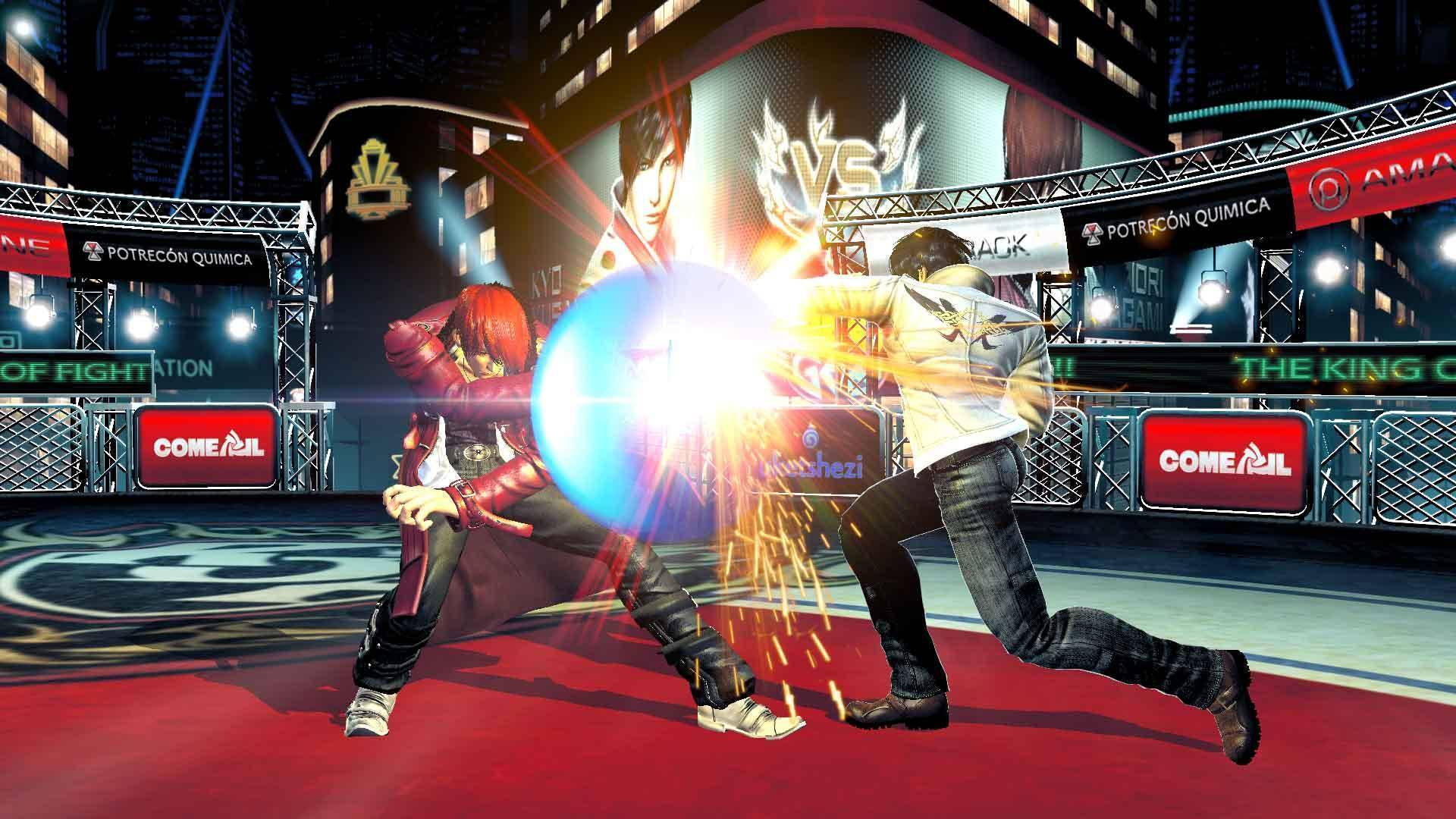Titel des Artikels überThe King of Fighters XIV