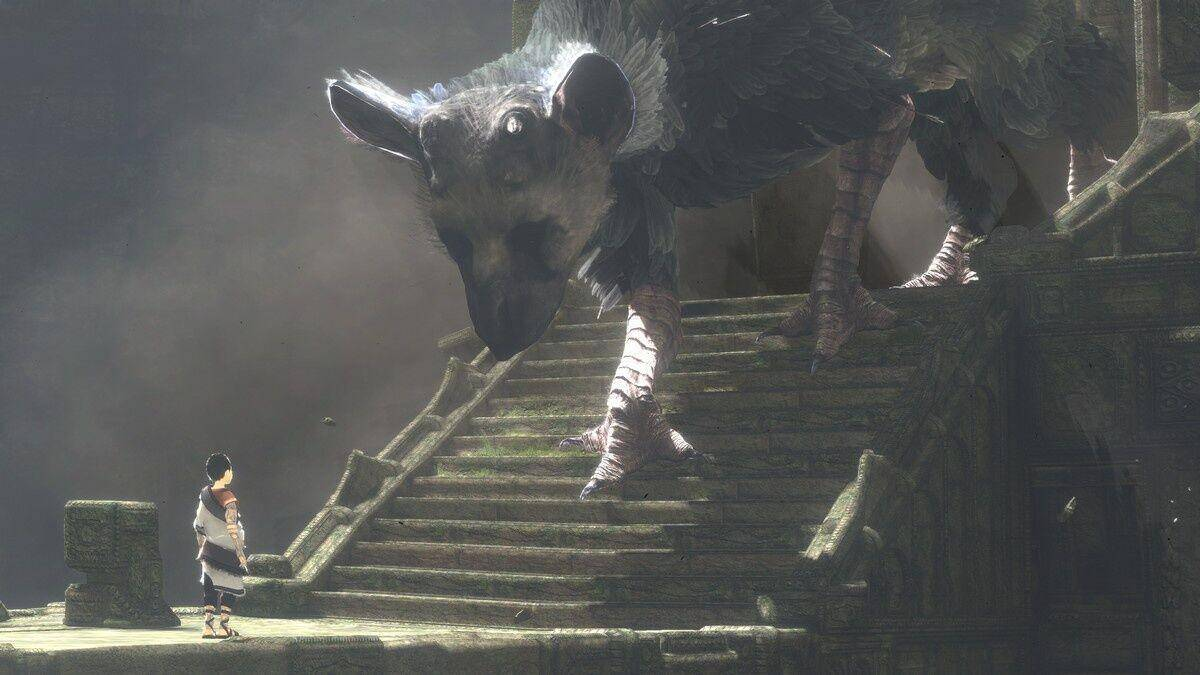 Article title about The Last Guardian