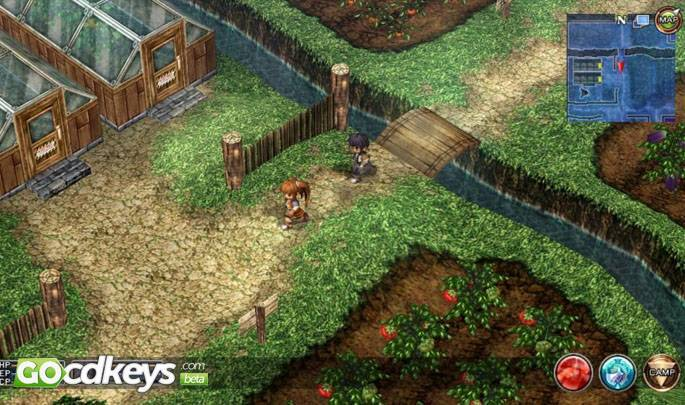 Article title about The Legend of Heroes: Trails in the Sky