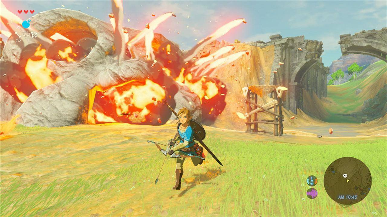 Titel des Artikels überThe Legend of Zelda Breath of the Wild