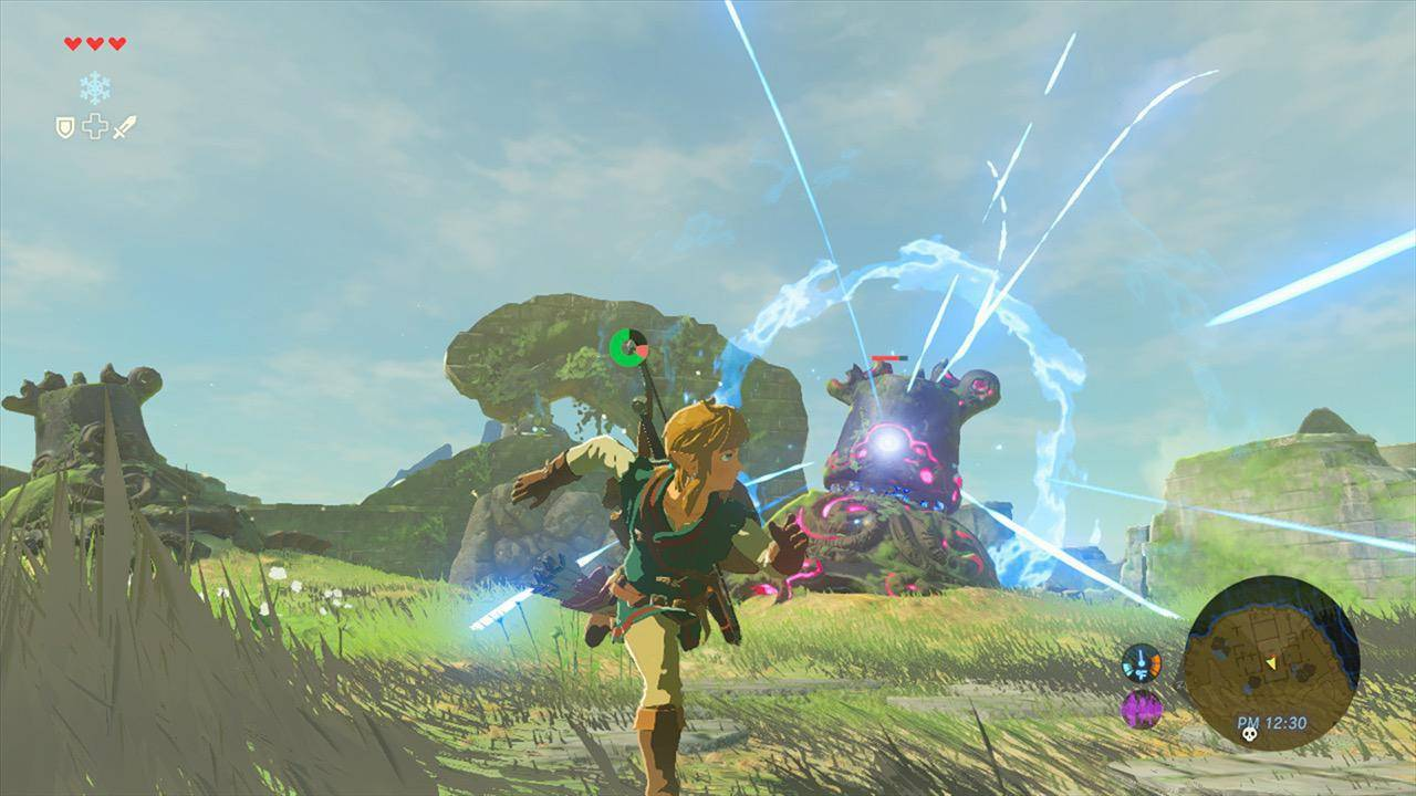 Article title about The Legend of Zelda Breath of the Wild
