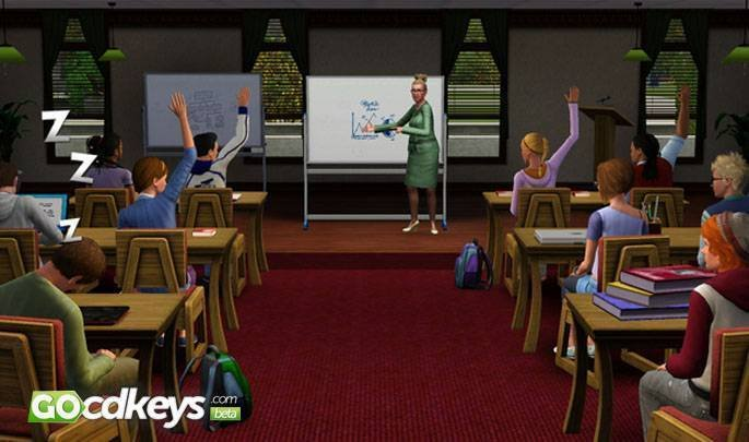 Watch The Sims 3 University Life cd key trailer